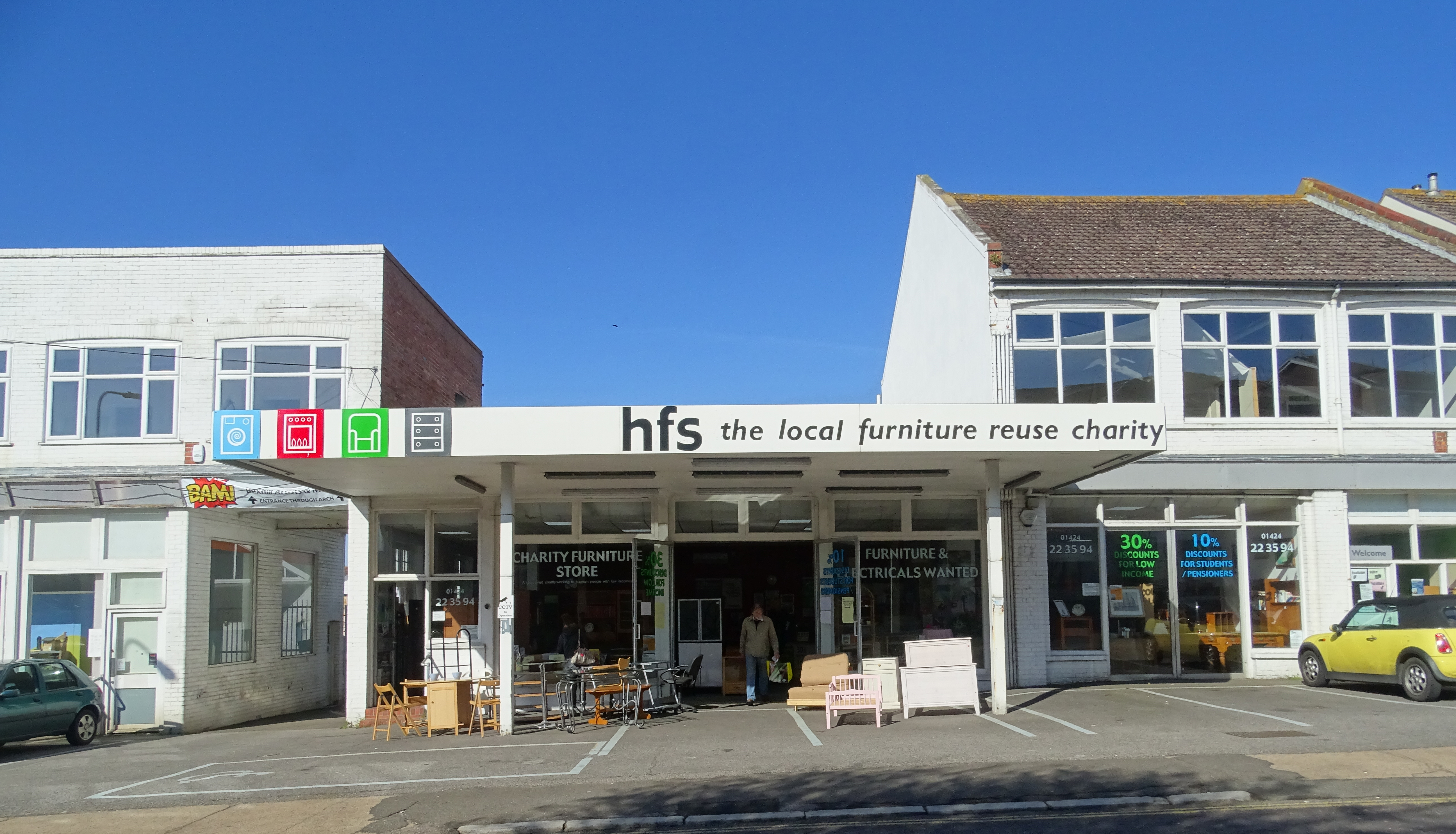 HFS Bexhill store