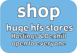 shop: huge furniture stores in Hastings and Bexhill, affordable second-hand furniture, bed, wardrobe, sofa, drawers, dressing table, coffee table, dining table, chair, armchair, sofabed, ottoman, bureau, shelves, wall units, cabinets